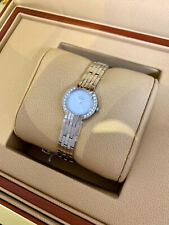 Citizen Eco-Drive Ladies Quartz, Metallic Silver Dial, Diamond Bezel - Steel