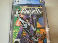PUNISHER 1 CGC 9.4 FIRST ISSUE OF THE UNLIMITED SERIES INTRIGUING STORY
