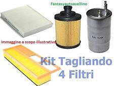 Kit 4  Filtri Tagliando CHRYSLER 300 C TOURING 3.0 CRD