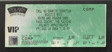 Beastie Boys 2000 Rage Against The Machine Unused Comp Concert Ticket .$23.95