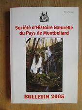Société d'Histoire Naturelle du Pays de Montbéliard  2005
