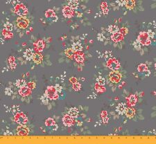 Floral Print Fabric 44 Inches Wide 65 GSM Georgette Material By The 1 Mtr.