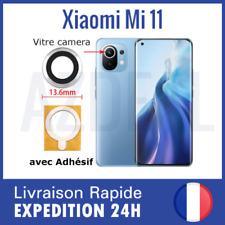 Pour Xiaomi Mi 11 vitre lentille appareil photo camera arrière verre + Adhesif