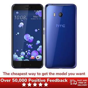 HTCU11 Unlocked 64GB Smartphone *See Images* 2PZC100 2017 - Sapphire Blue