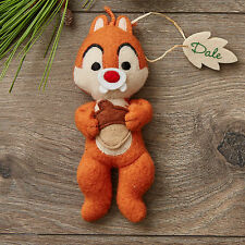 Disney Parks DALE Storybook Plush Holiday Ornament Christmas Mickey & Friends