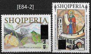 Albania 2006 [E84-2], definitive stamps MiNr. 3111; 3114,  MNH