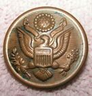 Early US Army Military Button Made by D. Evans & Co Attleboro FallsOriginal Period Items - 4070