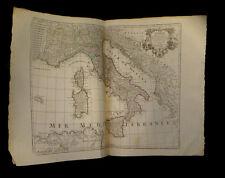 [GEOGRAPHIE MAP ITALIA] L'ISLE / DELISLE - Carte de l'Italie. 1788.