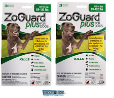 ZoGuard Plus Promika 89-132 Lb Kills Fleas and Ticks For Dogs 6 Month Supply