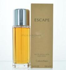 Escape By Calvin Klein For Women  Eau De Parfum 3.4 OZ 100 ML Spray