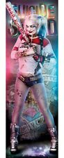 Suicide Squad Harley Quinn New DC Comics Superheroes Door Poster Print 53x158cm