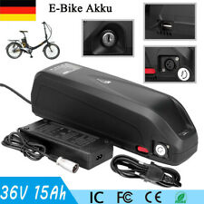 Neu 500W 36V 15Ah E-Bike Akku Pedelec Elektrofahrrad Fahrrad Li-ion Batterie USB