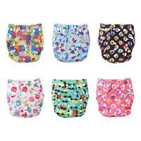 UN3F Baby Washable Diaper Reusable Cloth Nappies Infants Training Pants Panties