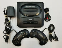 Sega Genesis Console Gen 2 System - ORIGINAL AUTHENTIC CONTROLLERS - TESTED