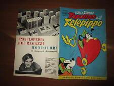 WALT DISNEY ALBO D'ORO N°41 TOPOLINO E IL TELEPIPPO  16-10-1955