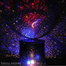 New Bright Stars Master Lights Romantic Sky Star LED Night Light Projector Lamp