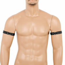 Men's Armbands Punk Goth Party Clubwear Cosplay Costumes Muscled Sexy Bracelets