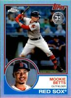 2018 Topps Chrome 1983 Topps Refractors Rookie RC Baseball Card Singles You Pick