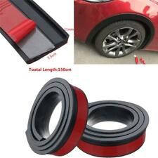 2PCS 150 x 5.5cm Universal Car Truck Fender Flares Wheel Protector Rubber Arches