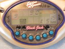 Vintage Black Jack Mini Casino electronic game. Hasbro and Tiger games. 2002