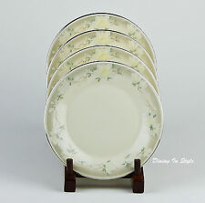 Set of 4 Bread Plates, MINT & NEAR MINT! Kathleen, Royal Doulton, Romance, H5091