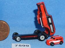 MICRO MACHINES '32 CHOPPED CUSTOM INSIDER w/'32 CHOPPED MINI Vintage Galoob