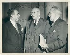 1951 Mayors V Impellitteri NYC D Lawrence Pittsburgh R Doughton NC Press Photo