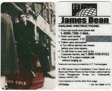 JAMES DEAN  - PHONE CARDS - UNUSED FOR COLLECTION - RARE -