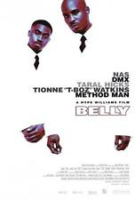 Belly Movie POSTER 27 x 40, Nas, DMX, Taral Hicks, A, LICENSED NEW