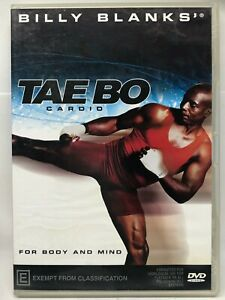 TAE BO - Cardio - Billy Banks - DVD - AusPost with Tracking