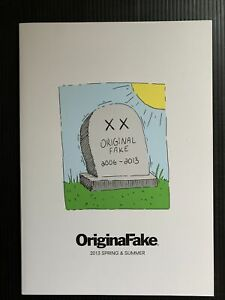 KAWS Original Fake Catalog 2013 Spring & Summer Novelty Final Season