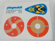 PLAYMOBIL x3 PEGATINAS ADHESIVOS ESCUDOS VIKINGOS VIKINGO SHIELD 5003 3153 3154