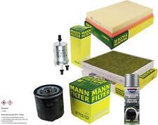 MANN-FILTER Paket + Presto Klima-Reiniger für VW Polo 9N_ Stufenheck 9A4 6Y5