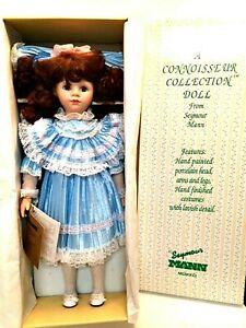 "Seymour Mann Porcelain Doll Kerry New in Original Box COA 19"" Tall"