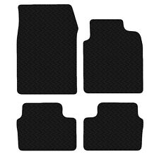 Vauxhall Vectra C & Signum 2003 - 08 Black Floor Rubber Tailored Car Mat 3mm Set