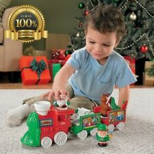 Gigt Fisher Price Little People Musical Santa Christmas Train Car Toy Play Kid