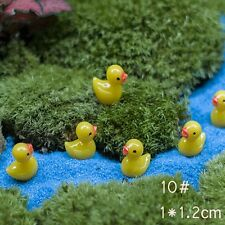 2017 Miniature Fairy Garden Ornament Decor Pot DIY Craft Accessories Dollhouse 5 Pcs Yellow Ducks