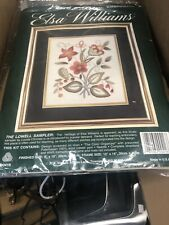 "Elsa Williams ""The Lowell Sampler"" Crewel Embroidery Kit"