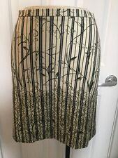 NEW Piazza Sempione Striped Skirt Size 38