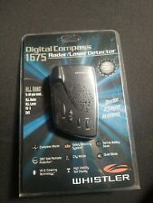 Whistler 1675 Digital Compass Radar /Laser Detector Brand New and Factory Sealed