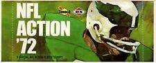 1  Sealed Pack of 1972 Sunoco Football Stamps (9 Stamps per Pack) Eagles