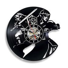 Legend of Zelda Link Time Video Game Decor Art Figure Vinyl Record Wall Clock