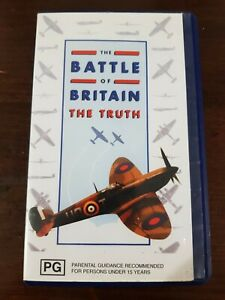 WAR FILM. THE BATTLE OF BRITAIN THE TRUTH. VHS. DOCUMENTARY. GOOD CONDITION.