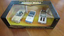 Ertl 1:43 American Muscle Indy 500 Pace Cars 3 Car Set Camaro Mercury Oldsmobile