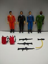 Vintage 1983 Galoob A-Team Action Figure Lot With Some Weapons