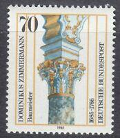 Germany 1985 MNH Mi 1251 Sc 1442 Stucco column.Dominikus Zimmermann,Architect **