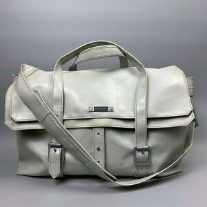 """FREITAG R511 CAROLUS 15"""" Laptop Bag Gray PVC Shoulder Adjustable Strap Messenger"""