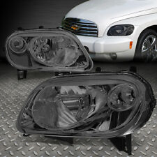 FOR 06-11 CHEVY HHR SMOKED HOUSING CLEAR CORNER HEADLIGHT REPLACEMENT HEAD LAMPS