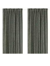 NEW IKEA FRITSE  Curtains, 1 pair Green 145 x 250 cm