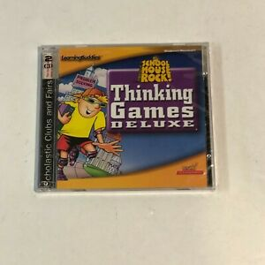 School House Rock! Thinking Games Deluxe for PC  Windows 95 98/Mac Power PC NEW